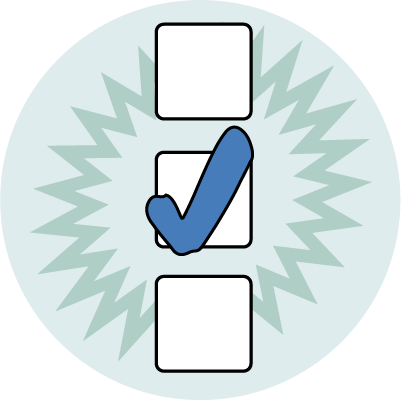 Trivia and polls icon